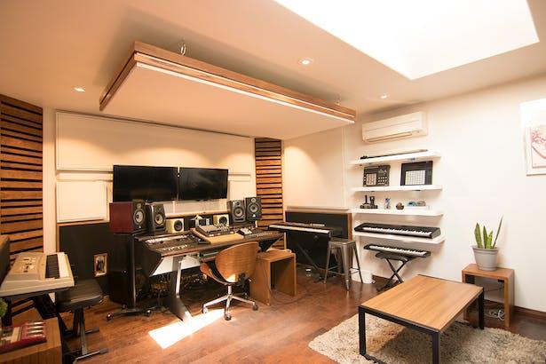 Control Room + Keyboard Wall