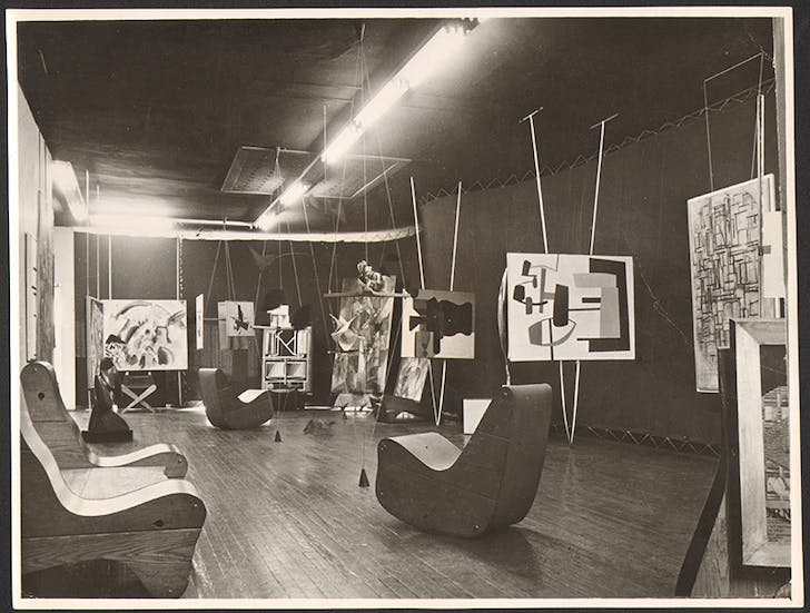 Peggy Guggenheim's 'Art of This Century,' insight into the 'Abstract Gallery,' New York 1942