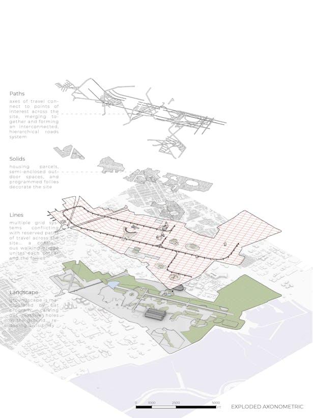 The Public City - exploded oblique