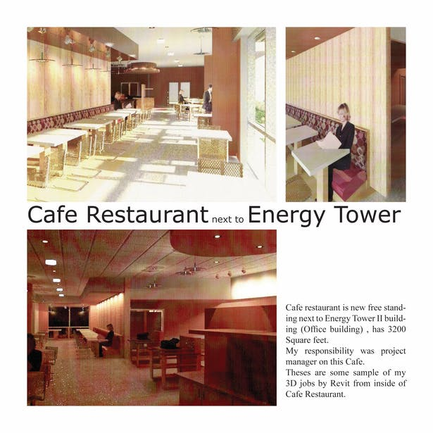Cafe Restaurant - interior view
