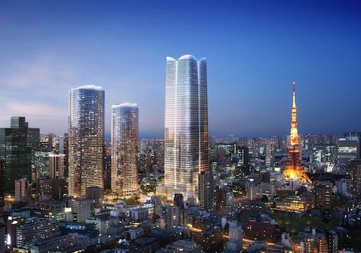Image courtesy of Pelli Clarke Pelli Architects, DBOX for Mori Building.