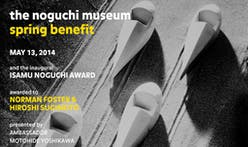 Norman Foster as one of the first recipients to receive Isamu Noguchi Award