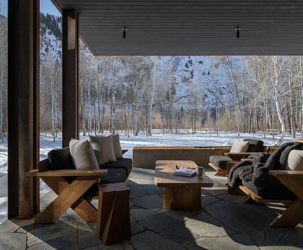Big Wood Residence - de Reus Architects (Photo: Gabe Border)