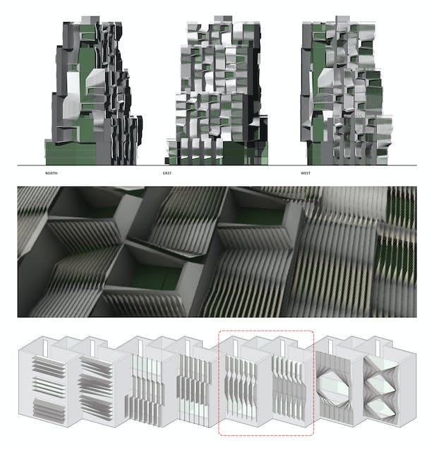 Facade System, Elevations & Details
