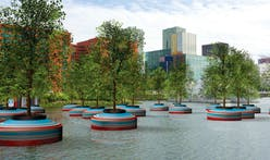 A Bobbing Forest will soon float in Rotterdam's harbor basin