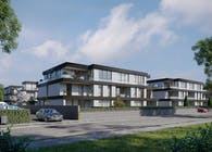 CGI: Residential building in Falkensee, Germany