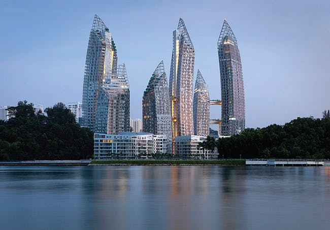 Studio Daniel Libeskind, DCA Architects PTE Ltd, with Reflections at Keppel Bay, Singapore