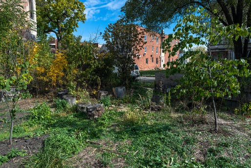 Vacant lot in Chicago. Image © Chicago Architecture Biennial / Nathan Keay, 2020