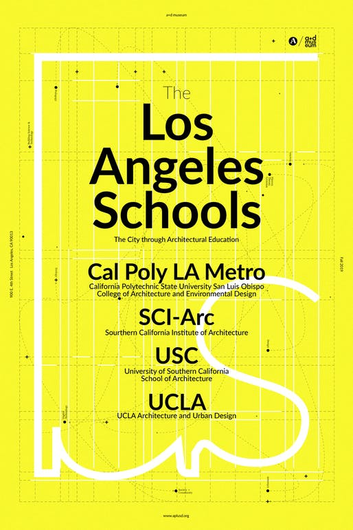 LA Schools is opening September 21, 2019. Image courtesy of Architecture + Design Museum.