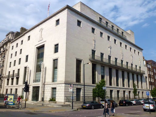"The headquarters of the Royal Institute of British Architects in London. Image courtesy of <a href=""https://commons.wikimedia.org/wiki/File:Cmglee_Royal_Institute_of_British_Architects.jpg"">Wikimedia User Cmglee</a>"