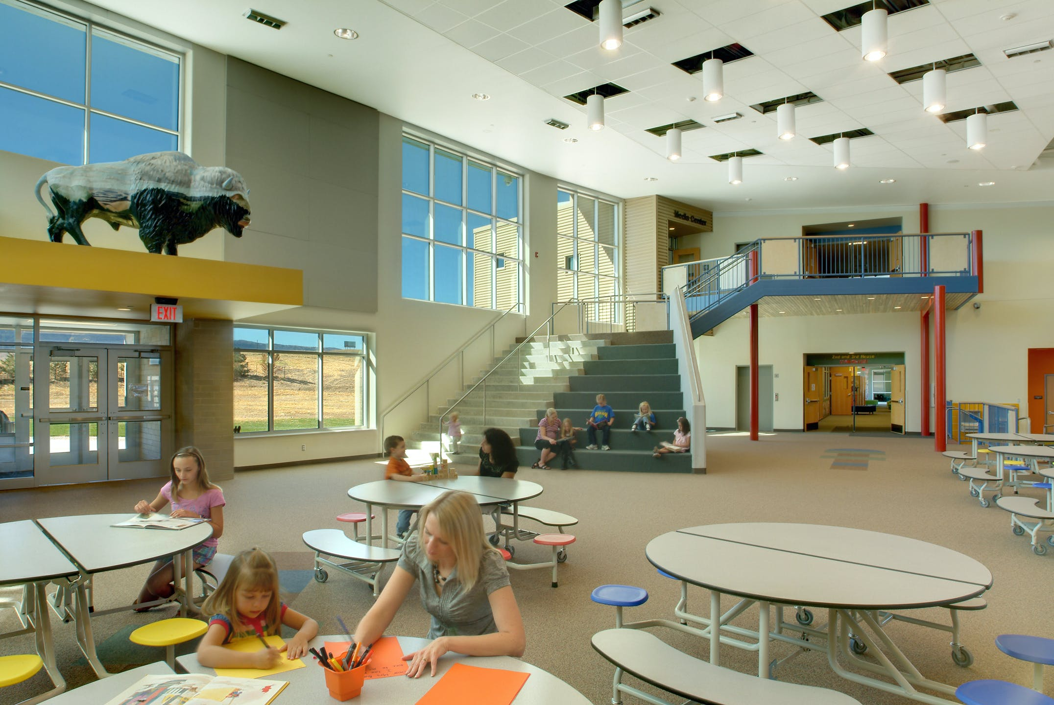 Summit elementary school lee h skolnick architecture for New york school of interior design acceptance rate