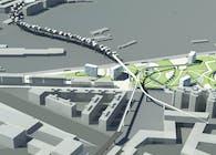 urban design of Prenestina railway's area
