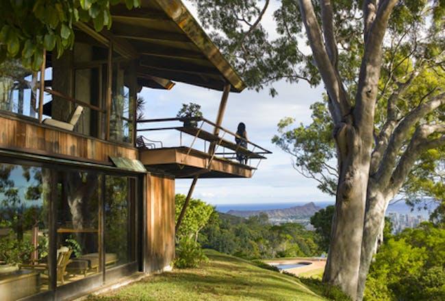 Liljestrand house in Honolulu. Architect Vladimir Ossipoff via Jeff Green