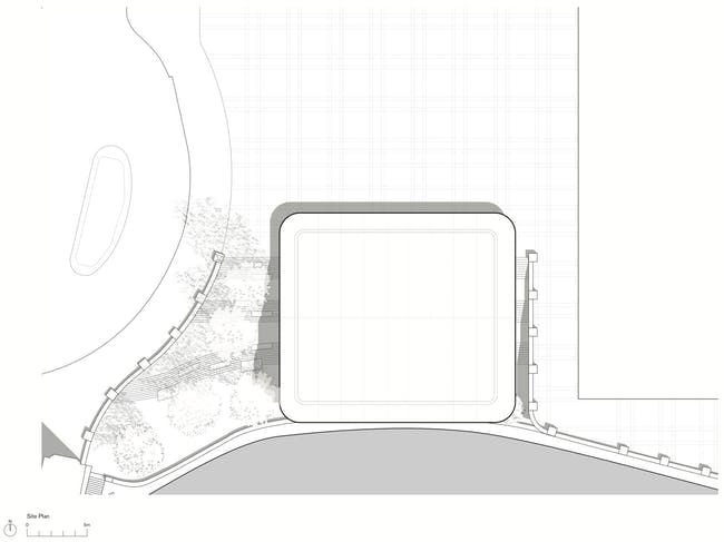 Roof Plan. Apple Store, Chicago, (c) Foster + Partners
