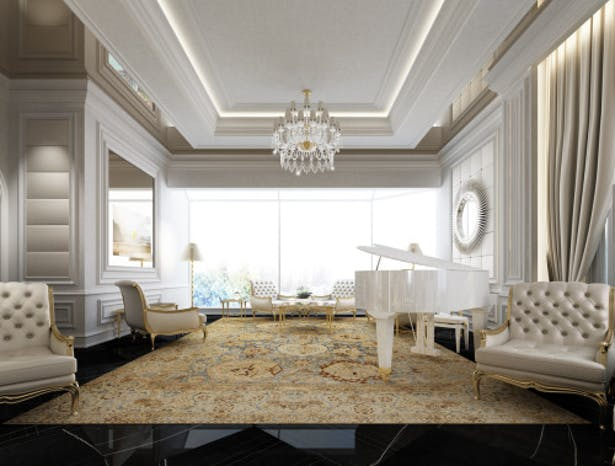 Exploring Luxurious Homes Timeless Living Room Design
