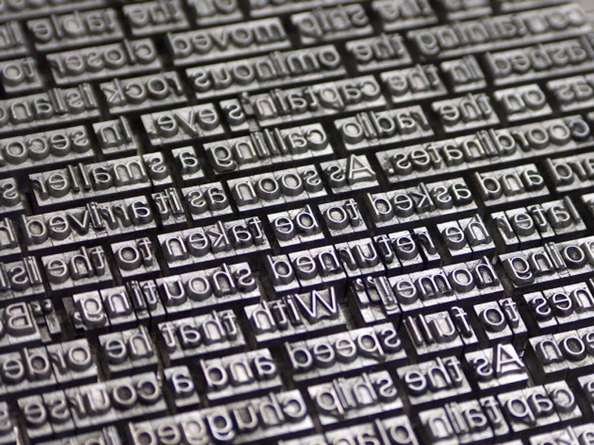 1967 The Typesetting And Heidelberg Press J F
