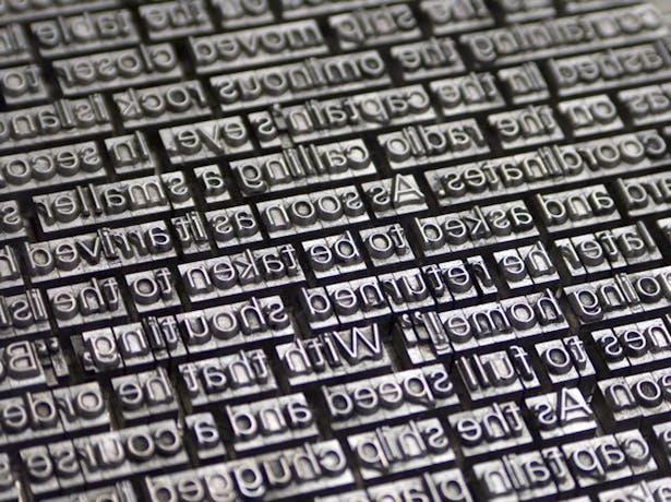 Lead-typesetting