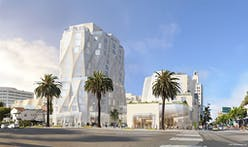 Frank Gehry presents reworked and shortened Santa Monica hotel tower