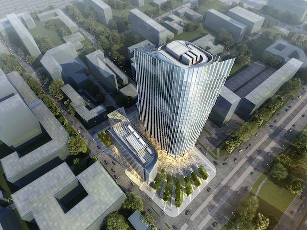 Mennica Legacy Tower - Warsaw, Poland