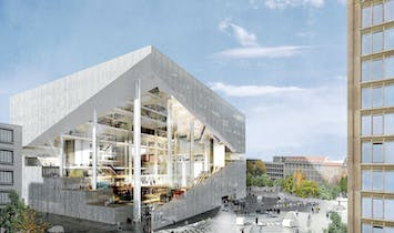 Berlin heals war scars with ambitious architecture