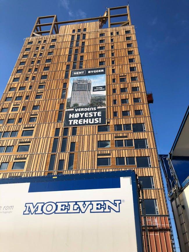 Image: Mjøstårnet on Facebook