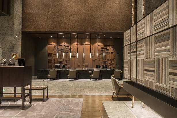 YANG杨邦胜_南京金鹰国际酒店-大堂(Nanjing Golden Eagle Boutique Hotel)
