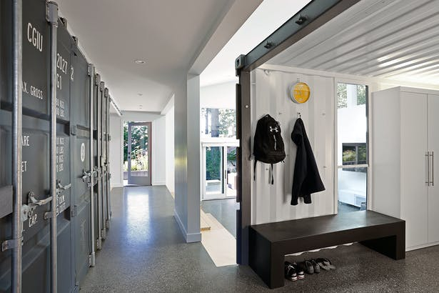 The Wyss Family Container House (Photo: Mark Woods)