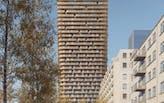 First look: Mecanoo to design 140-meter-tall Frankfurt Grand Central tower