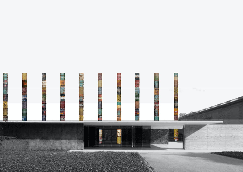 Mies Van Der Rohes Timeless Barcelona Pavilion Columns Will Get A