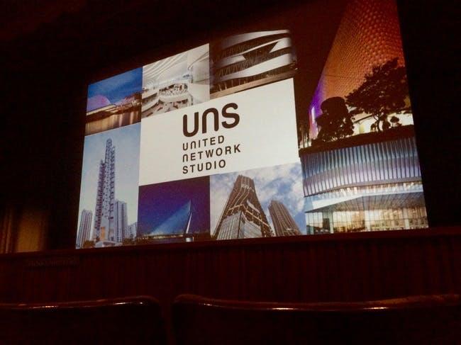 Caroline Bos of UNStudio gave a public lecture at LACMA.