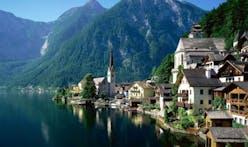 Chinese secretly copy Austrian town