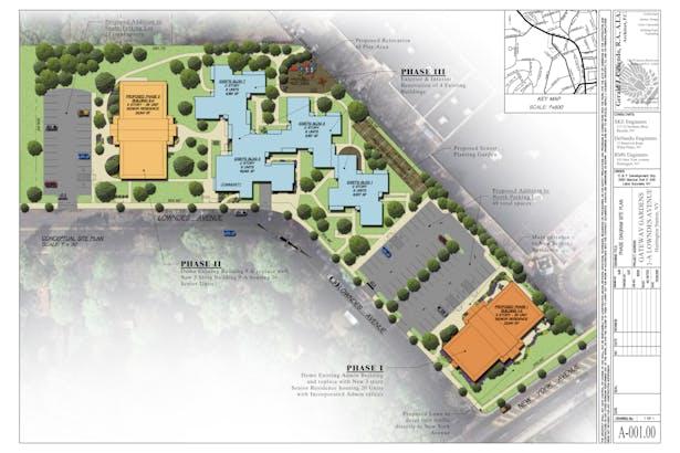 Diagrammatic Proposed Site Plan