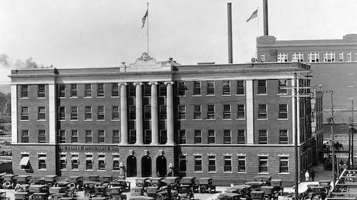 Denver's iconic Livestock Exchange Building