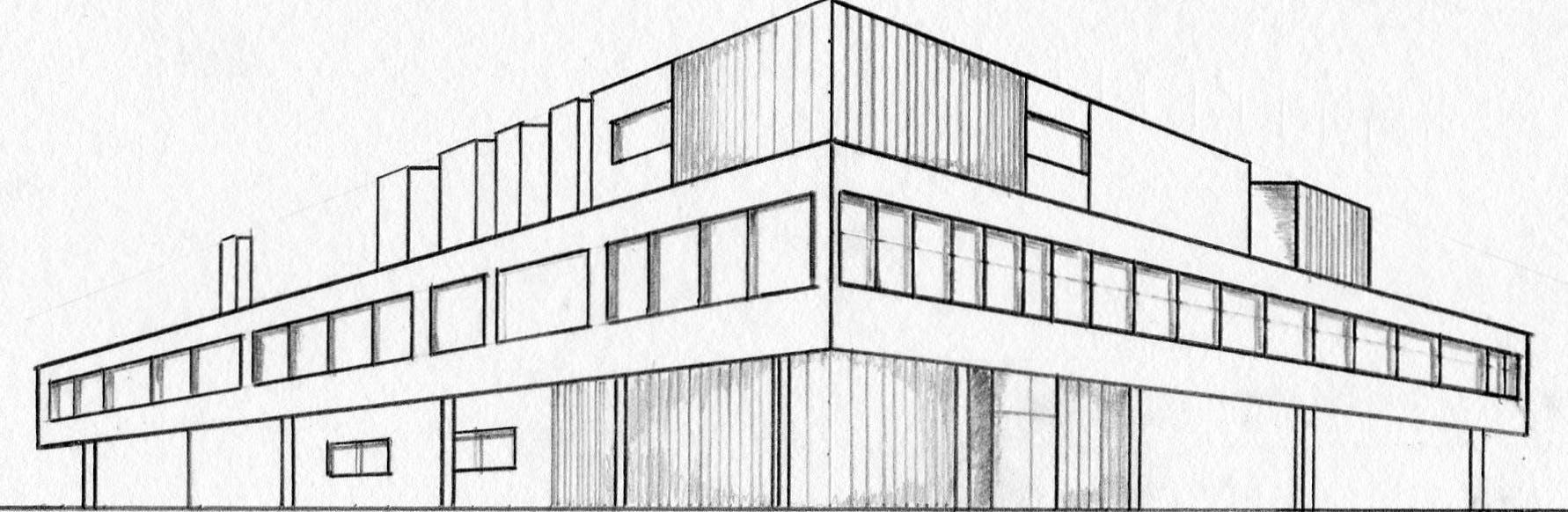 Villa Savoye (Le Corbusier) 1st Year Architecture | Frederico ...