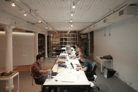 Omaha office. Photograph courtesy of Actual Architecture Co.