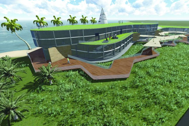 'Marine Research Facility', student work from University of Hawai'i by Hart Boesel. See more student work on the Archinect's school profile.