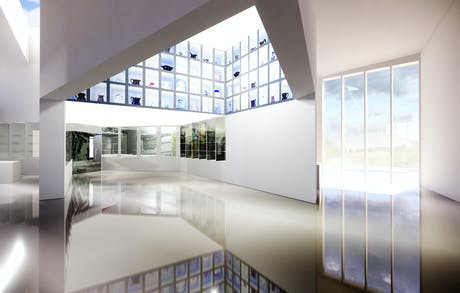 Conceptual Interior Rendering /// Museum and Exhibits