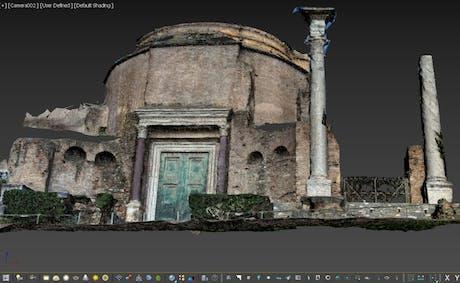 Photogrammetry -Tempio detto di Romolo (Rome)