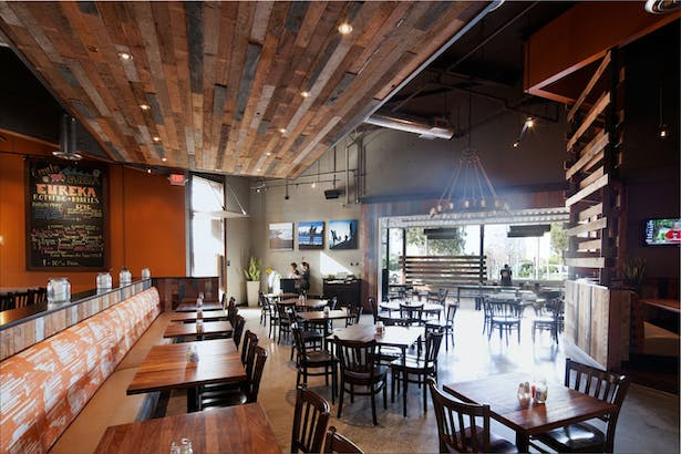 authentic | brand centric restaurant design. vibrant interior finishes with modern industrial styling. 4,873 sq ftauthentic | brand centric restaurant design. vibrant interior finishes with modern industrial styling. 4,873 sq ft