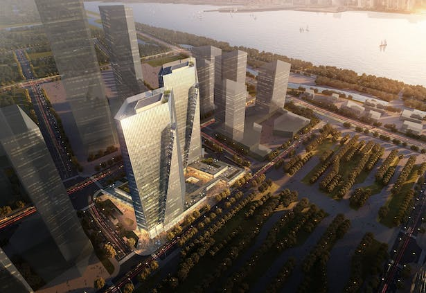 Hangzhou New South North Mixed-use Project by Aedas