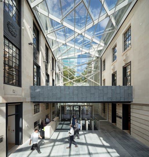 London Business School, The Sammy Ofer Centre, by Sheppard Robson.