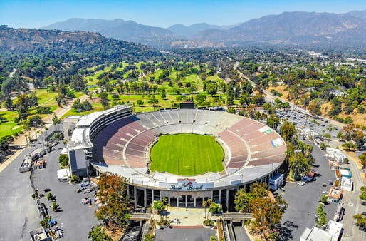 Recognized as a National Historic Landmark, the Rose Bowl will celebrate its 100th anniversary in 2022. Photo: Ted Eytan/Wikimedia Commons