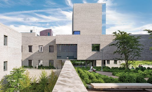 Princeton University has sued Tod Williams and Billie Tsien Architects and Jacons Entities for their work on the Andlinger Center at the school. Image courtesy of Michael Moran.