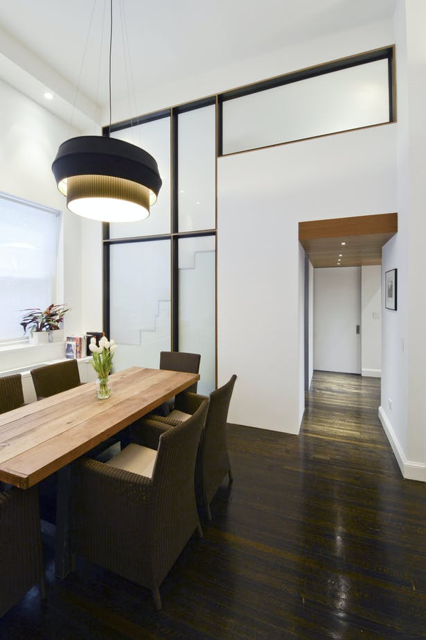 Loft Addition Creates Threshold Between Master Suite and Living Space