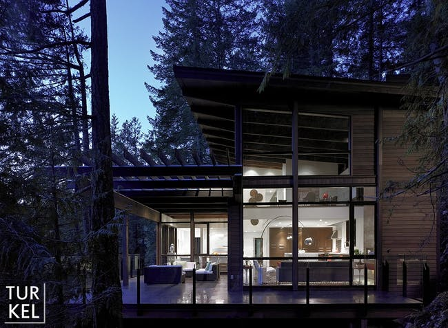 Gambier Island House by Turkel Design. Photo © Turkel Design