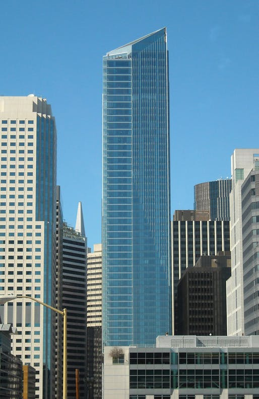 Millennium Tower Image courtesy of Wikimedia Commons.