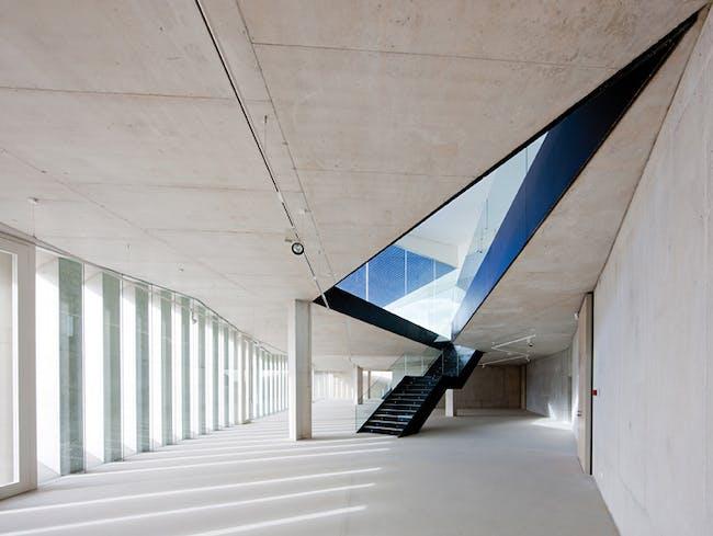 Municipal Auditorium in Teulada, Spain by Francisco Mangado & Associates; Photo: Juan Rodríguez