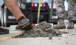 Carbon-sequestering cement absorbs power plant emissions as it hardens