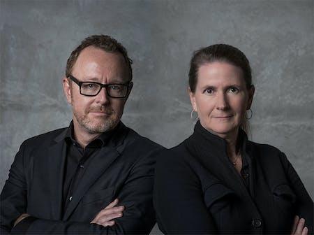 John Enright & Margaret Griffin of Griffin Enright Architects. Image via Griffin Enright Architects.