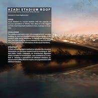 Azadi Stadium Retractable Roof